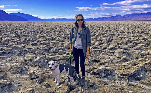 Ally & Hero in Death Valley