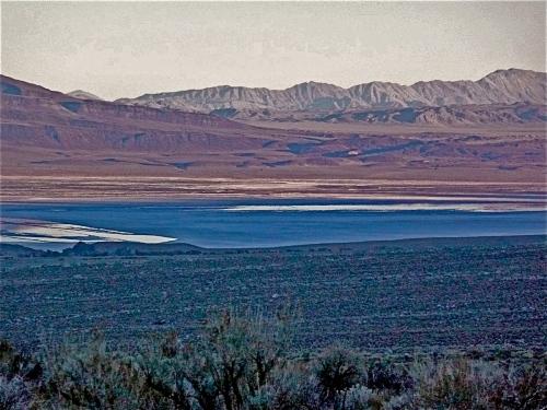 OWENS LAKE SUNSET -1-
