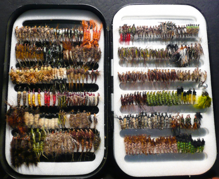 Richard wheatley fly boxes planettrout for The fishing fly box