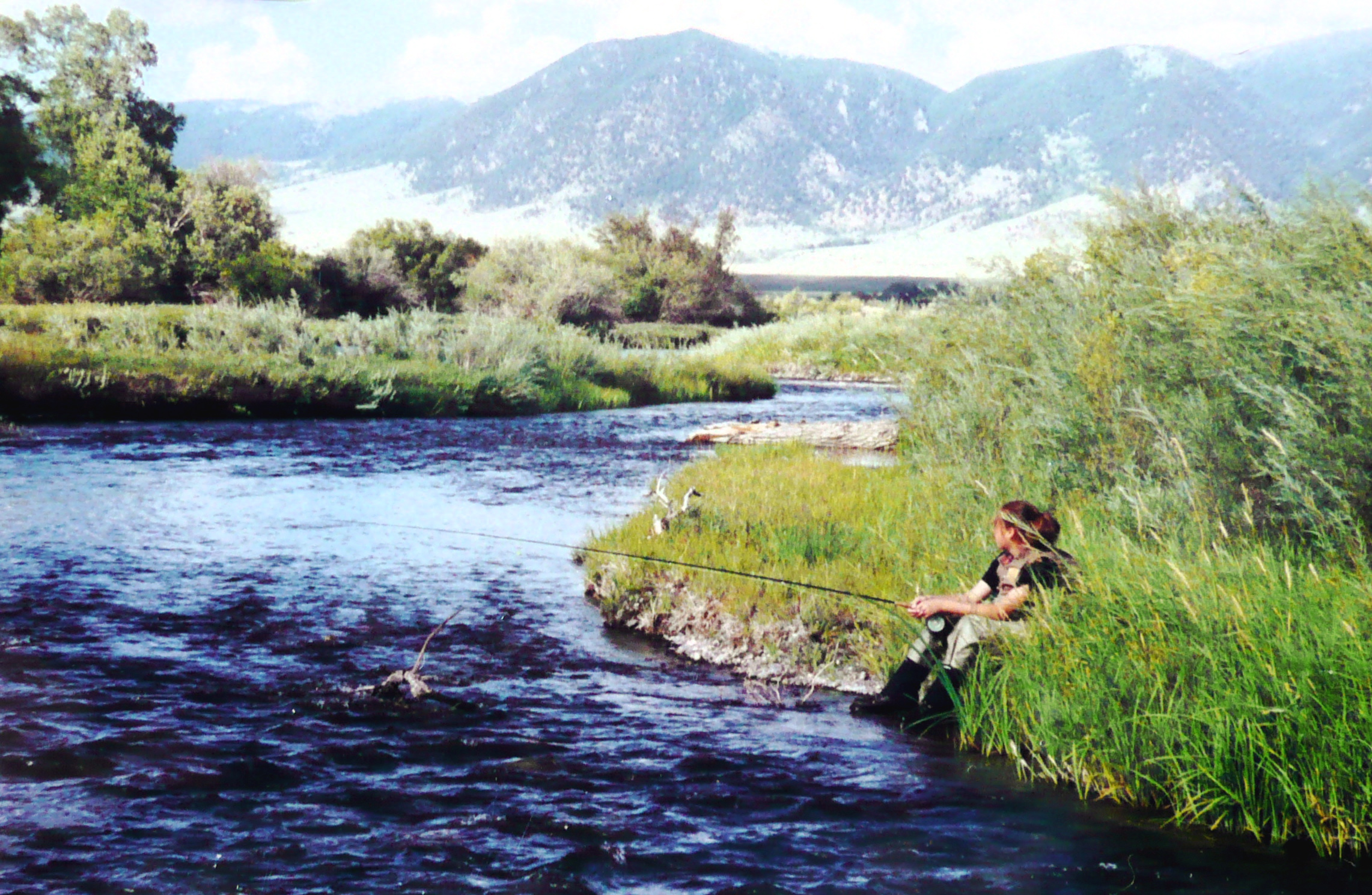 Madison river nymph fly fishing planettrout for Madison river fly fishing