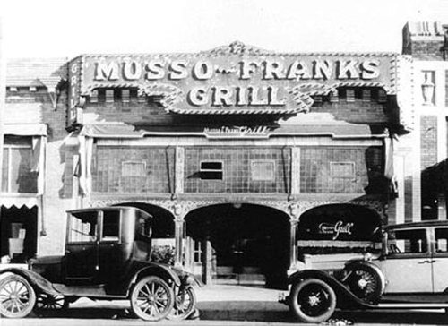 MUSSO N FRANK 20's -12-
