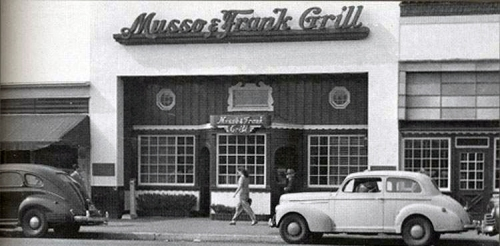 MUSSO N FRANK 40's -11-