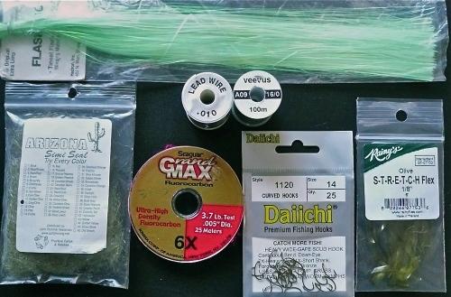 Materials LIME FLA OG SCUD -1-