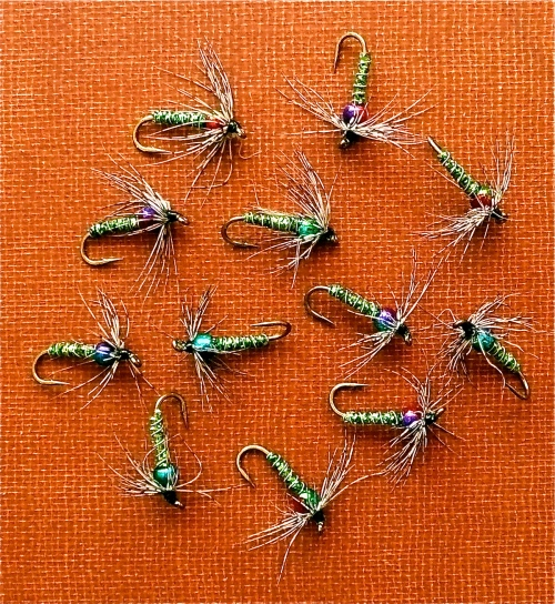 RAIN BOW SOFT HACKLES -1-