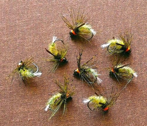 BRUSHED LASER & D-RIB CADDIS GRP