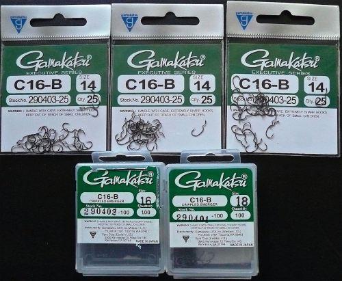 GAMAKATSU C16-B HOOKS